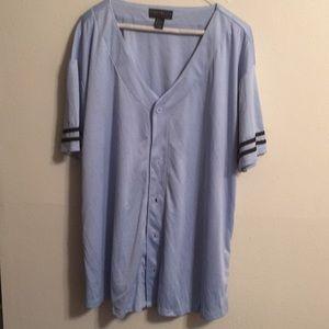 Forever 21 baseball shirt NWOT size 3X